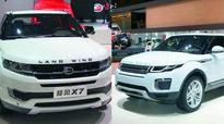 China cancels patents of JLR, copycat firm