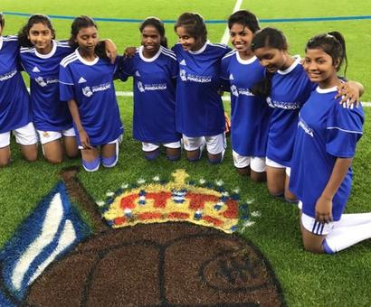 What these Jharkhand girls are doing in Spain?