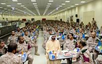 Mohammed's iftar with national service recruits