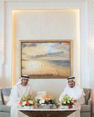 King Salman receives Mohamed Bin Zayed