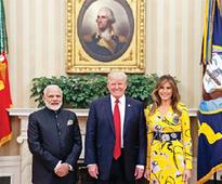 At 1st meet, Modi skips H1B visas, Trump calls for end to trade barriers