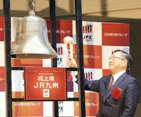 JR Kyushu celebrates strong TSE debut