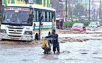 Monsoon's first deluge claims 2 lives in city