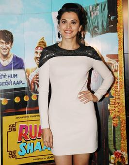 PIX: Nora, Ayushmann watch Running Shaadi with Taapsee