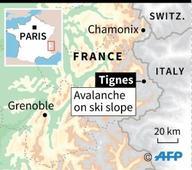 Avalanche strikes French Alps ski resort