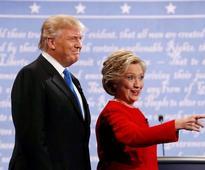 Who won the first Trump-Clinton presidential debate?