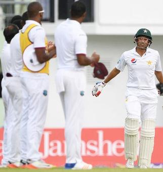 3rd Test, Day 1: Pakistan crawl to 169 for two against Windies