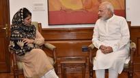PM Modi very concerned about Kashmir turmoil: J&K CM Mehbooba Mufti