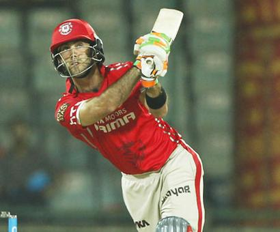 Maxwell takes over from Vijay as Kings XI Punjab skipper