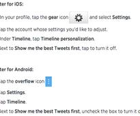 Show Me the Best Tweets First: Twitter Wants Timeline to Act Like Facebook's News Feed