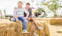 Jamie Oliver and Alex James celebrate five years of The Big Feastival