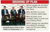 NITI Aayog tips on strategic stake sale