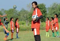 She uses her tea stall money to train tribal women in football