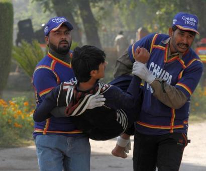 12 killed, 32 injured as burqa-clad terrorists attack Peshawar college
