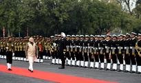 Narendra Modi addresses top military commanders at combine conference