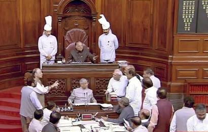 Govt faces embarrassment in RS as amendments moved by Opposition passed