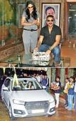 Sanjay turns 57 with three cakes