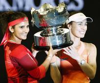 Sania Mirza, Martina Hingis end successful doubles partnership