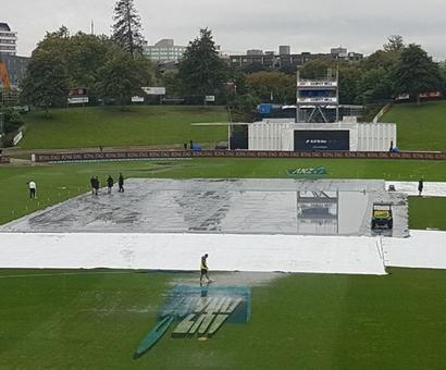 When rain gods helped South Africa