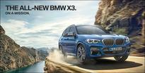 BMW India launches third generation of SUV X3