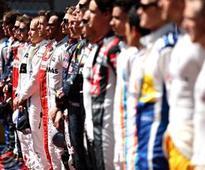 Formula 1 drivers' half-term report