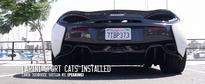 McLaren 570S Gets Rowdy Thanks to Larini Sports Cats Exhaust System