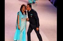 Boman Irani walks ramp with wife for cancer patients