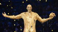 Kobe Bryant Doused in Golden Slime at Kids' Choice Sports Awards