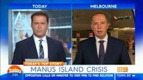 Dutton struggles to explain Manus solution