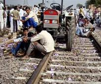 Jats in Bharatpur, Rajasthan block railway line over demand for OBC quota benefits