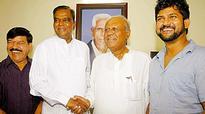 Nothing to discuss with Siddaramaiah, says V Srinivasprasad