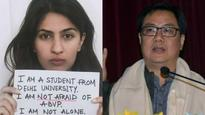Kargil martyr's daughter's FB post: 'Who's polluting this young girl's mind? Strong Arm Force prevents a war,' says Kiren Rijiju