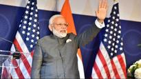 Congress lashes out at PM Modi's 'blot free' remarks in US
