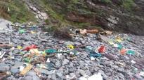 Storm Imogen leaves debris on beaches