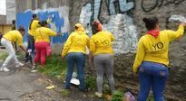 Ganging up on graffiti