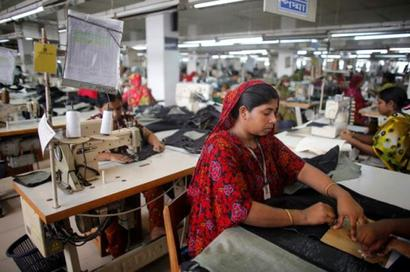 Indian garment companies help Bangla tiger roar