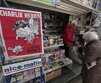 Charlie Hebdo tribute marks two years of Islamist attacks on France