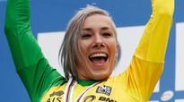 Caroline Buchanan wins BMX world time trial title