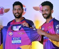 Indian Premier League Debutants Rising Pune Supergiants Unveil Jersey