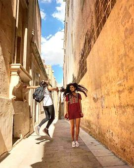 PIX: Dangal actress Fatima's fun Malta holiday
