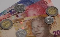 #RandReport: Rand gains for 2nd straight day, stocks inch up