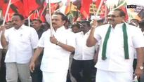 DMK to intensify its protest against bus fare hike