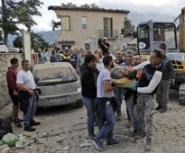 British tourists feel shocks as strong earthquake rocks central Italy