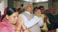 2005: Lalu, Rabri out as CM 2014: Daughter keeps address