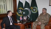 British High Commissioner meets Pakistan Army Chief