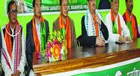 Veteran CPI leader Mangi joins BJP