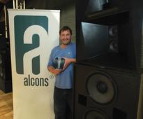 Alcons Audio Press Conference at CEDIA