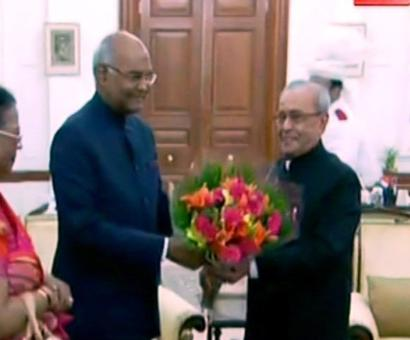 President, President-elect head to Parliament House