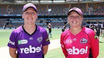 Sydney Sixers Women 169/6 v Hobart Hurricanes Women 23/1 *