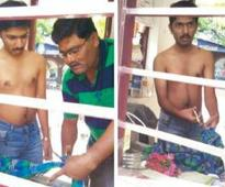 Boy Wears Lucky Shirt To Exam Has To Cut Sleeves Because IIT Has Banned Full Sleeve Shirts